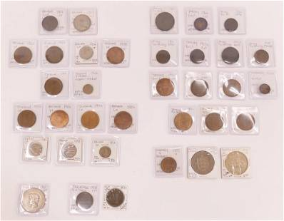 33pc Collection of British Isle Coins
