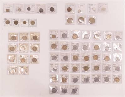 65pc Collection India Sri Lanka Mule Error Coins