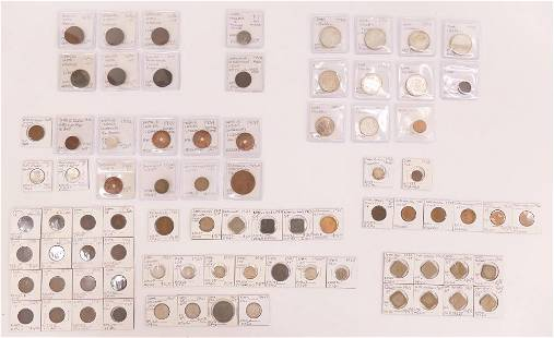 80pc Collection Dutch Dutch East Indie Coins
