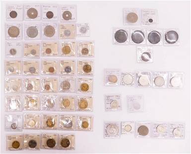 57pc Middle Eastern Turkish Coins