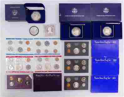 Collection US Proof Mint Sets