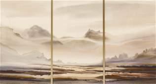 John Ebner (b.1943 Washington) Northwest Landscape
