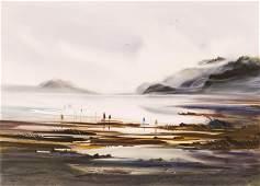 John Ebner (b.1943 Washington) Northwest Coastal Scene