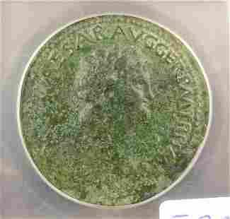 Roman Lugdunum AE Sestertius ICGF15