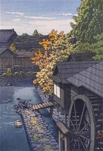 Kawase Hasui ''Kawanishi, Tochigi Prefecture''