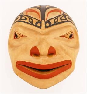 Terry Starr (b.1951 Tsimshian) Full Moon Mask 1993