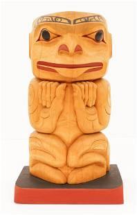 Terry Starr (b.1951 Tsimshian) Seated Human Figure