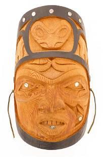 Chester Patrick (1958-2008 Gitxsan) Volcano Woman Mask
