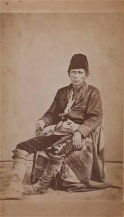 William P. Carter Portrait of Navajo Chief Mariano