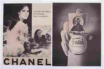 2pc Violet Ray Anti Vietnam War Posters