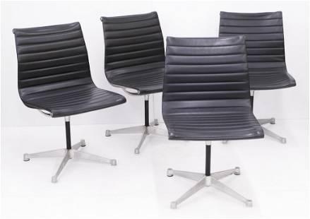 Set 4 Eames for Herman Miller Aluminum Group Chair