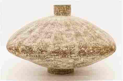 Claude Conover ''Sabac'' Ceramic Squat Vessel
