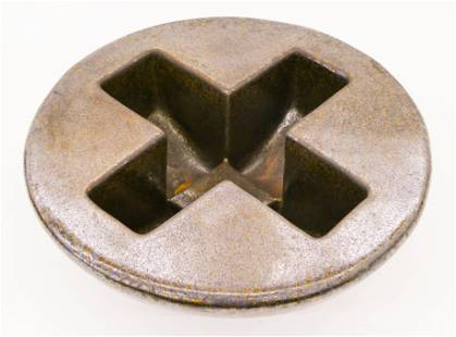 David Shaner Rocking ''X'' Pot Glazed Stoneware