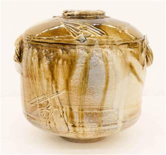 Don Reitz Large Salt Fired Jar