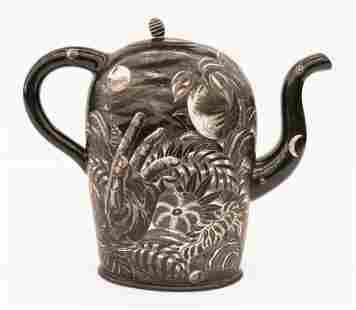 Kurt Weiser ''Night Garden'' Teapot 1990