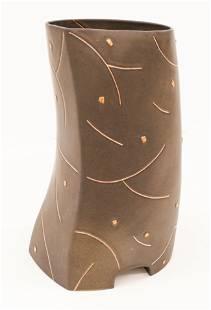 Kurt Weiser Vase with Shards 1980's