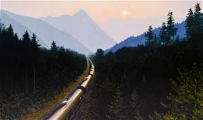 David Bobroff ''409 RPM'' 2019 Oil on Linen