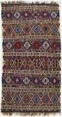 Antique Shirvan Kilim Caucasian Rug 5'9''x11'