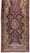 Semi Antique Persian Oriental Runner Rug 138x3