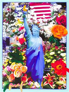 Peter Max ''Land of the Free, Home of the Brave'' Mixed