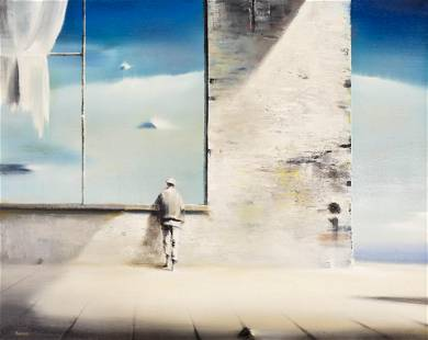 Robert Watson ''Reverie'' Oil on Canvas