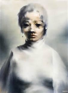 Robert Watson ''Woman'' 1964 Oil on Canvas