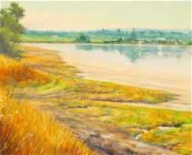 Rod Weagant ''Twisp Landscape'' Oil on Canvas