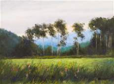 Rod Weagant ''Landscape with Trees'' Oil on Canvas