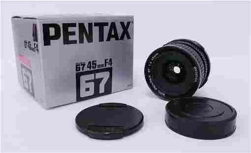 SMC Pentax 67 45mm F4 Lens