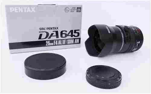 SMC Pentax DA 645 25mm F4 AL (IF) SDM AW Lens