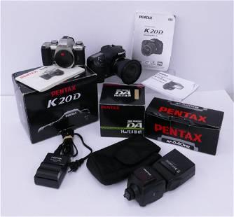 Pentax ZX-5N 35mm Film & K20D Digital Cameras Etc.