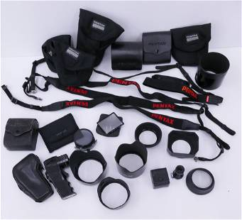Large Group Pentax Camera Accessories
