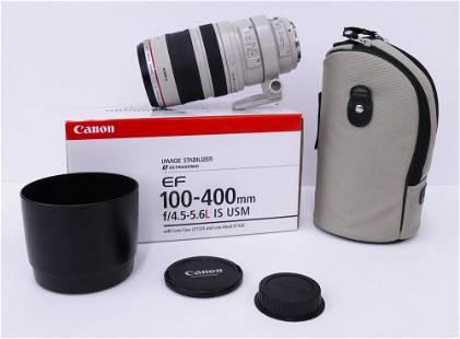 Canon EF 100-400mm f4.5-5.6L IS USM Camera Lens