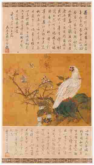 Manner of Emperor Huizong Scroll Painting