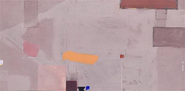Vicki Robinson ''Moon Dig'' 1985 Oil
