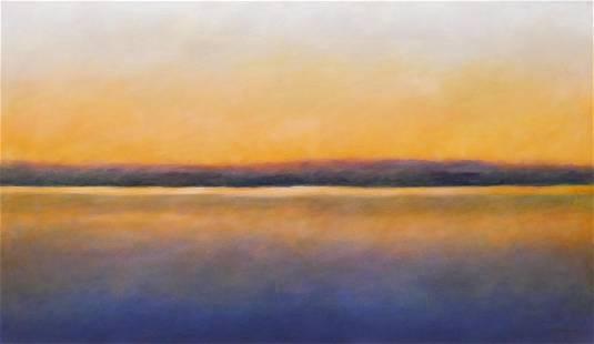 "Lloyd Blakley ""Distant View #17"" 2003 Oil"