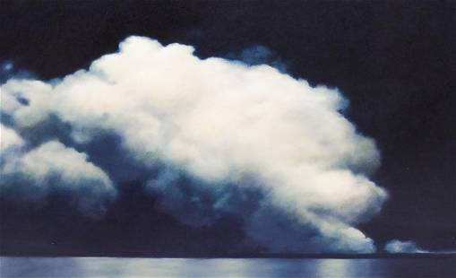 Gayle Bard ''Mississippi Night Cloud'' 2003 Oil