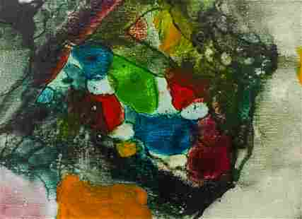 Alden Mason ''Burpee Garden Delight'' 1970's Oil