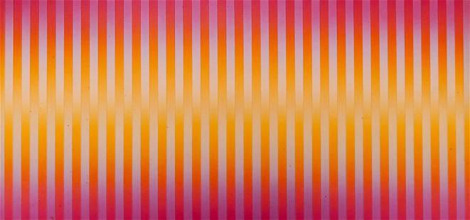 Francis Celentano ''Delta'' 1971 Acrylic