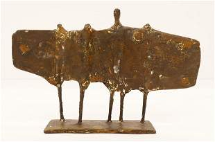 Kenneth Armitage ''Standing Group'' 1954 Bronze