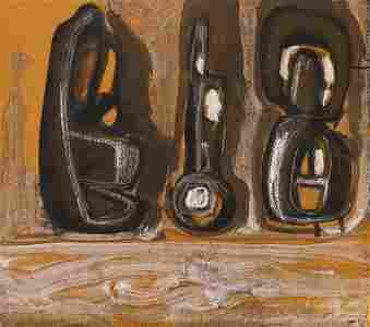 Guy Anderson ''Northern Sentinels'' 1970 Oil