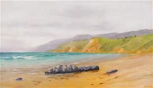 John Sykes ''North of Santa Monica'' 1922 Oil