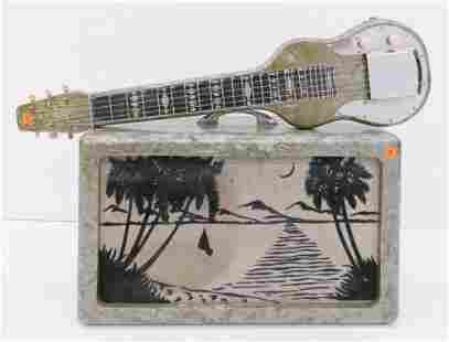 Dickerson Hawaiian Lap Steel Guitar w/ Amp, 1940's