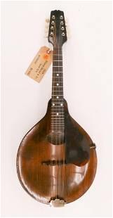 Gibson Model A-Junior Mandolin, 1924