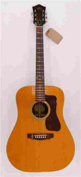 Guild D40 NT Acoustic Guitar, 1971