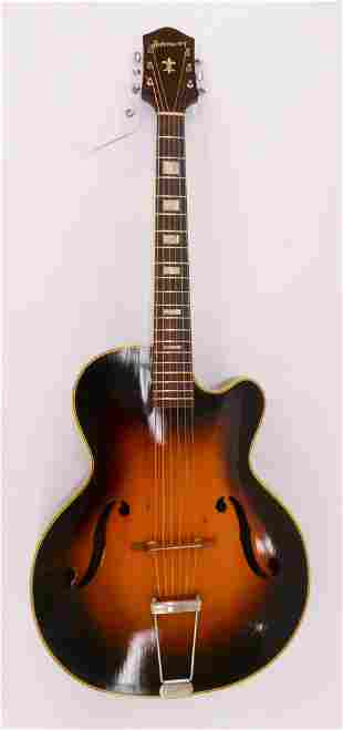 Harmony H-1310 Brilliant Archtop Guitar, 1950's