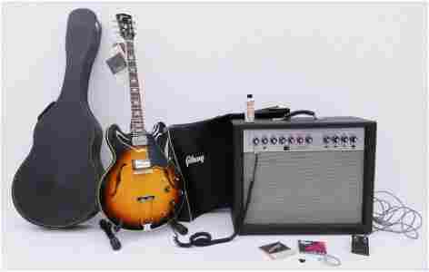 Gibson ES-335 TD Electric Guitar & Amp, 1967