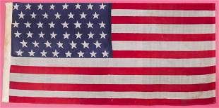 Antique 46 Star American Flag