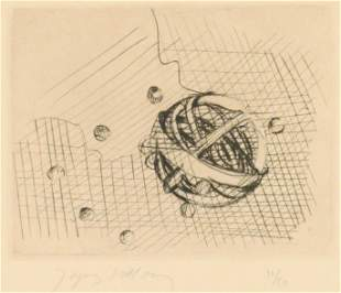 Jacques Villon ''Creation of The World'' Signed Etching