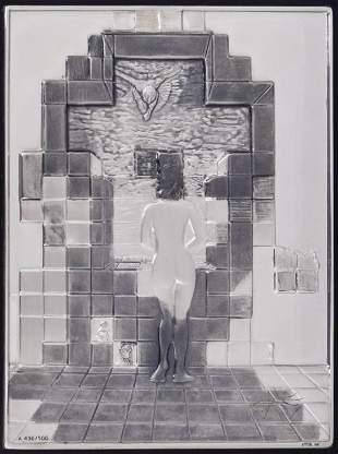 Salvador Dali ''Lincoln in Dalivision'' 1976 Sterling
